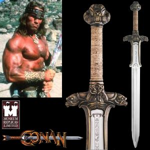 CONAN -  SWORD ATLANTEAN OFFICIELLE (VERSION FORGEE MAIN - WINDLASS STUDIOS)