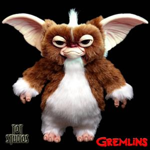 GREMLINS - REPRODUCTION STRIPE MOGWAY TAILLE 1/1 OFFICIELLE (MOGWAY PUPPET PROP - TOT STUDIOS)