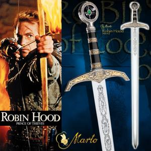 ROBIN HOOD, PRINCE OF THIEVES - EPEE OFFICIELLE DE LORD LOCKSLEY (MARTO - MADE IN SPAIN / TOLEDO)
