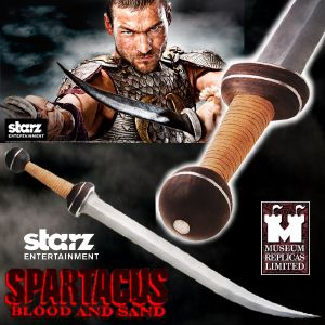 SPARTACUS : BLOOD & SAND - GLAIVE SPARTACUS OFFICIEL (STARZ ENTERTAINMENT LLC - WINDLASS STUDIOS)