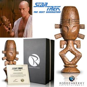 STAR TREK : THE NEXT GENERATION - TNG HORGA'HN IDOL STATUE PROP REPLICA OFFICIELLE