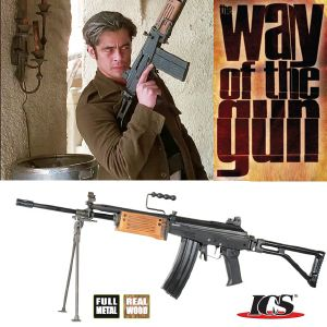 WAY OF THE GUN - FUSIL D'ASSAUT GALIL ARM HAUT DE GAMME EN METAL ET BOIS VERITABLE, TOUT AUTOMATIQUE