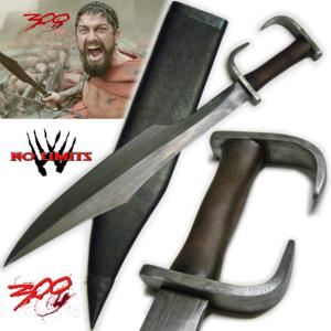 300 - KOPIS LEONIDAS REPRODUCTION AUTHENTIQUE LAME DAMAS (PRACTICAL ARTISAN FORGERON - NO LIMITS)