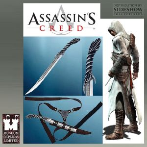 ASSASSIN'S CREED - DAGUE DE COMBAT ALTAIR OFFICIELLE & FOURREAU CUIR (SIDESHOW - WINDLASS STUDIOS)