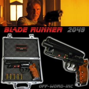 BLADE RUNNER 2049 - BLASTER EDITION LIMITEE AVEC MALLETTE DELUXE (VERSION OFF-WORD-INC™)