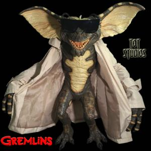 GREMLINS - REPRODUCTION GREMLINS FLASHER TAILLE 1/1 OFFICIELLE (GREMLINS PUPPET - TOT STUDIOS)