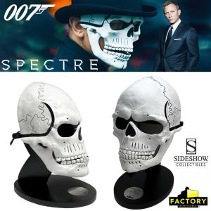 JAMES BOND : SPECTRE - MASQUE TETE DE MORT OFFICIEL LIMITED EDITION PROP REPLICA (DAY OF THE DEAD MASK - FACTORY ENTERTAINMENT - SIDESHOW)