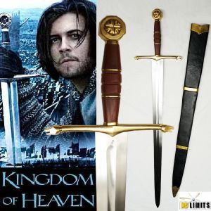 KINGDOM OF HEAVEN - EPEE BALIAN REPRODUCTION AUTHENTIQUE (PRACTICAL MAITRE FORGERON - NO LIMITS)