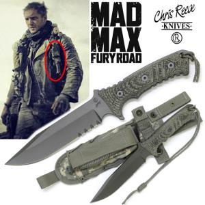 MAD MAX 4, FURY ROAD - COUTEAU OFFICIEL (IMPORT USA CHRIS REEVE KNIVES)