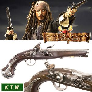 PIRATES DES CARAIBES - PISTOLET JACK SPARROW (VERSION KTW AIRSOFT)