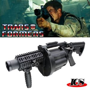 TRANSFORMERS - REVOLVER GRENADE LAUNCHER OFFICIEL