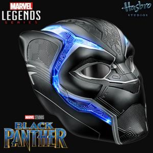BLACK PANTHER - CASQUE INTEGRAL ELECTRONIQUE OFFICIEL (HASBRO - MARVEL LEGENDS)