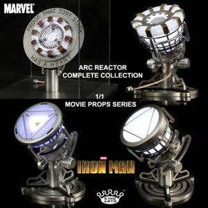 IRON MAN 2 & 3 - ARC REACTOR OFFICIEL COMPLETE COLLECTION (KING ARTS - MARVEL)