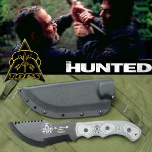 THE HUNTED (TRAQUE) - TRACKER TOM BROWN OFFICIEL (IMPORT USA TOPS KNIVES)