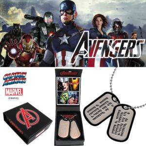 "AVENGERS - CAPTAIN AMERICA DOG TAG OFFICIEL ""EE EXCLUSIVE"" (PROP REPLICA ECHELLE 1/1)"