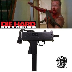 DIE HARD : WITH A VENGEANCE - SUBMACHINE GUN TOUT METAL