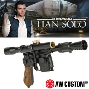 STAR WARS - HAN SOLO BLASTER TOUT METAL LIMITED EDITION (VERSION AIRSOFT)
