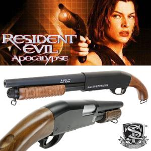 RESIDENT EVIL APOCALYPSE - SHOTGUN ALICE OFFICIEL TOUT METAL ET BOIS VERITABLE