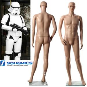 STAR WARS - STORMTROOPER MANNEQUIN POUR ARMURE COMPLETE