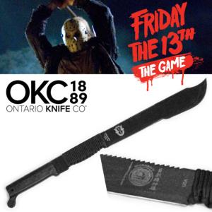 FRIDAY THE 13TH : THE GAME - MACHETTE OFFICIELLE JASON (VENDREDI 13 - ONTARIO USA)