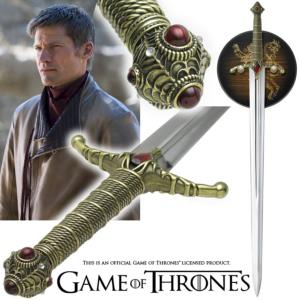 GAME OF THRONES - EPEE WIDOW'S WAIL DE JAIME LANNISTER OFFICIELLE LIMITED EDITION