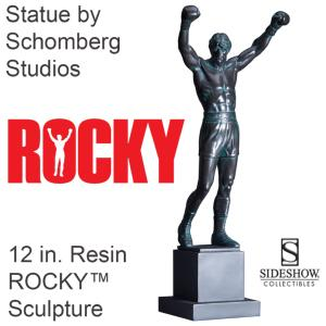 ROCKY BALBOA - STATUE 12 INCH. RESIN ROCKY™ SCULPTURE OFFICIELLE (SCHOMBERG STUDIOS - SIDESHOW)
