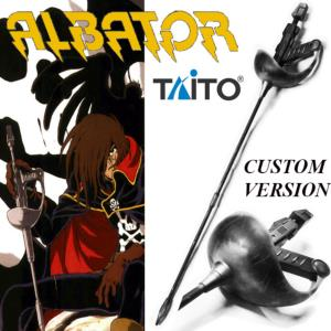 "ALBATOR - SABRE ""VERSION CUSTOM"" OFFICIEL ECHELLE 1:1 (REPLIQUE RECONDITIONNEE TAITO IMPORT JAPAN)"