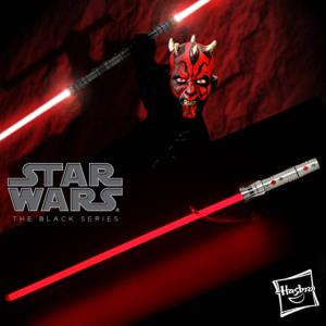 STAR WARS - SABRE LASER DARK MAUL FX (HASBRO - THE BLACK SERIES)