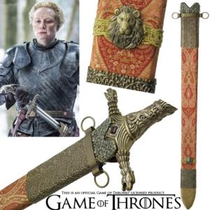 GAME OF THRONES - OATHKEEPER, FOURREAU EPEE DE BRIENNE OFFICIEL LIMITED EDITION