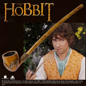 THE HOBBIT - PIPE DE BILBO SACQUET OFFICIELLE