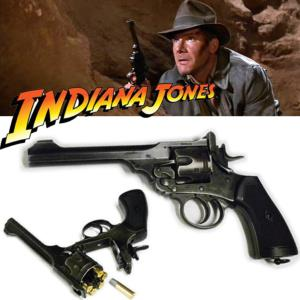 INDIANA JONES - REVOLVER OFFICIEL WEBLEY MARK VI (VERSION EFFET VIEILLI)