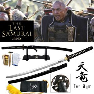 LE DERNIER SAMOURAI - SWORD OFFICIEL KATSUMOTO VERSION FORGE MAIN (PRACTICAL - TEN RYU)