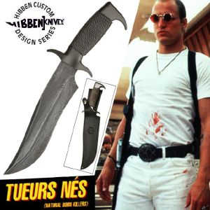 TUEURS NES (NATURAL BORN KILLERS) - POIGNARD OFFICIEL EN DAMAS LIMITED EDITION (UNITED CUTLERY)