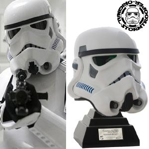 STAR WARS - STORMTROOPER CASQUE OFFICIEL (ORIGINAL-STORMTROOPER NUMEROTE)