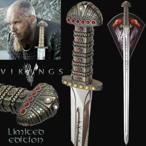 VIKINGS (SERIE) - EPEE DU ROI RAGNAR LOTHBROK OFFICIELLE LIMITED EDITION