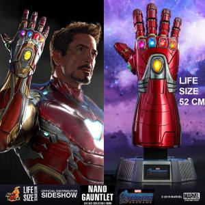 AVENGERS: ENDGAME - NANO GANTELET IRON MAN OFFICIEL TAILLE 1/1 LIMITED EDITION (MARVEL - HOT TOYS - SIDESHOW)