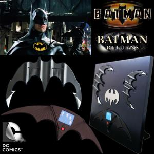 BATMAN & BATMAN RETURN - SET 3 BATARANG OFFICIEL PROP REPLICA LIMITED EDITION (ECHELLE 1:1)