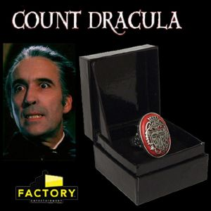 COUNT DRACULA - BAGUE OFFICIELLE COLLECTORS EDITION