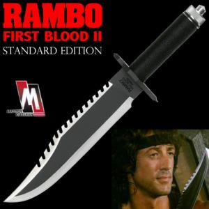 RAMBO II, LA MISSION - POIGNARD OFFICIEL STANDARD EDITION