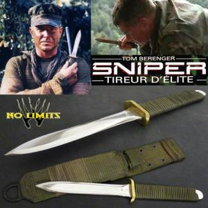 SNIPER - COUTEAU TACTIQUE REPRODUCTION AUTHENTIQUE (PRACTICAL MAITRE FORGERON - NO LIMITS)