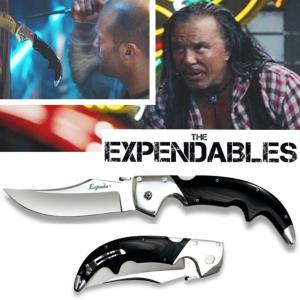 THE EXPENDABLES - COUTEAU TOOL (MICKEY ROURKE) KNIFE ESPADA OFFICIEL