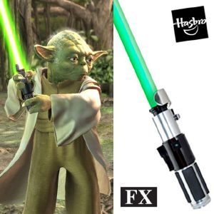 STAR WARS - SABRE LASER MAITRE YODA FX (VERSION HASBRO SIGNATURE 2014)