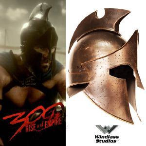 300 : RISE OF AN EMPIRE - CASQUE OFFICIEL THEMISTOKLES (WINDLASS STUDIOS)