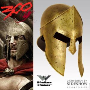 300 - CASQUE OFFICIEL SPARTIATE (WINDLASS STUDIOS / SIDESHOW)
