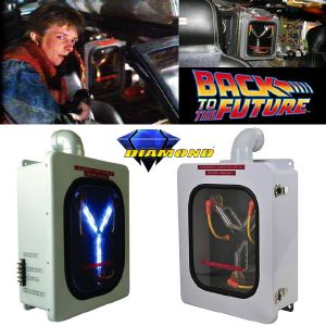 RETOUR VERS LE FUTUR - FLUX CAPACITOR OFFICIEL UNLIMITED EDITION