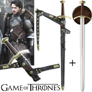 GAME OF THRONES - EPEE ET FOURREAU DE ROBB STARK OFFICIELS LIMITED EDITION