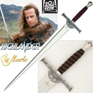 HIGHLANDER - EPEE CONNOR MAC LEOD OFFICIELLE MARTO NUMEROTEE (IMPORT USA 20TH CENTURY FOX)