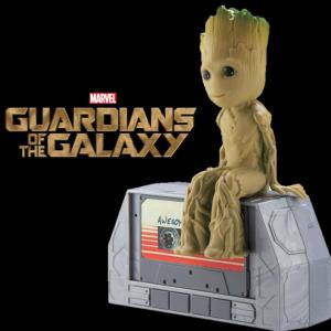 GARDIENS DE LA GALAXIE (LES) VOL. 2 - GROOT DANCING OFFICIEL & ENCEINTE (ECHELLE 1:1  IHOME-MARVEL)