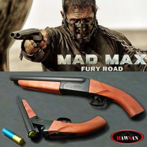 MAD MAX 4, FURY ROAD - SHOTGUN OFFICIEL TOUT EN METAL ET BOIS VERITABLE