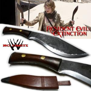 RESIDENT EVIL EXTINCTION - KUKRI REPRODUCTION AUTHENTIQUE (PRACTICAL MAITRE FORGERON - NO LIMITS)